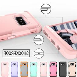 Luxury Anti-drop Cover For Samsung Note8 9 Silicone And PC 3