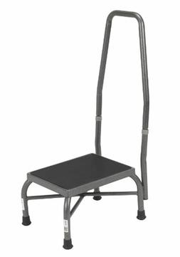 Medical Heavy Duty Bariatric Footstool with Handrail and Non