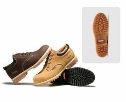 Jacata Men's Low-Cut Work Boots Water Resistant Boots Heavy