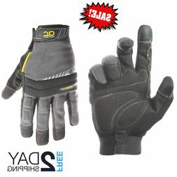 Men Winter Warm Gloves Waterproof Insulated Work Sky Black L