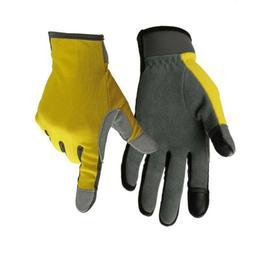 Men Women Heavy Duty Gardening Gloves Thorn Proof Leather Wo