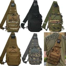 Mens Heavy Duty Crossbody Pack Tactical Military Style Trave