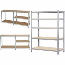 Metal Heavy Duty 5 Tier Shelf Garage Shelvin Unit Steel Rack