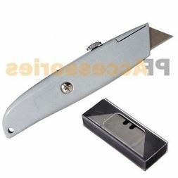 metal utility retractable cutter knife