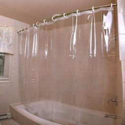 Mildew Resistant Waterproof Heavy Duty Bath Shower Curtain L