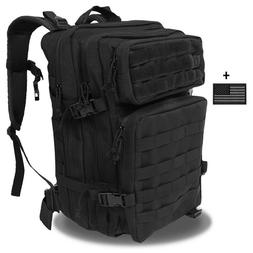 Military Large Tactical Army Backpack Survival Water-Proof H