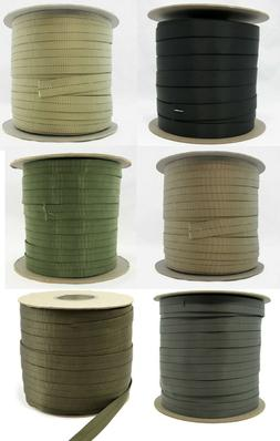 "Military Nylon Webbing-Tubular 1"" Heavy Duty-Mil-W-5625-Per"