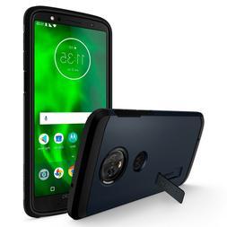 Motorola Moto G6 | Spigen®  Metal Slate Heavy Duty Case Cov