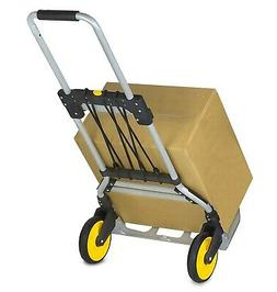 Mount-It! Folding Hand Truck and Dolly, 264 Lb Capacity Heav