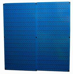 2 Pack Wall Mount Metal Pegboard Panel Garage Hang Tool Orga