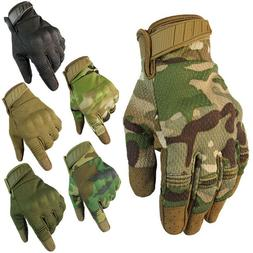 Tactical Mechanic Wear Safety Work Impact Gloves High Perfor