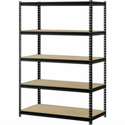 "Muscle Rack 48""W x 24""D x 72""H 5-Shelf Heavy Duty Adjustable"