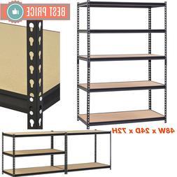 Adjustable Heavy Duty Metal Shelves Storage Garage Shelving