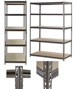 Edsal Muscle Rack Shelving Heavy Duty Adjustable 5 Shelf Ste