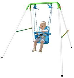 Sportspower My First Toddler Swing - Heavy-Duty Baby Indoor/
