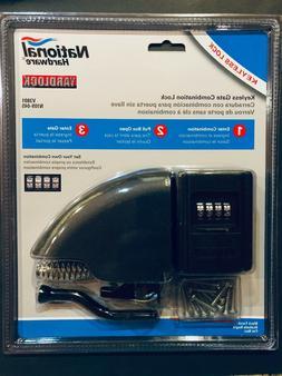 National Hardware N109-045 V3801 YardLock in Black