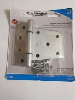 National Hardware N238-212  Heavy Duty Gate Hinges Galvanize