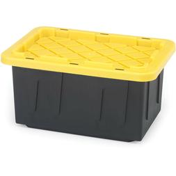 NEW 15-Gallon Tough Tote Heavy Duty Storage Container Plasti