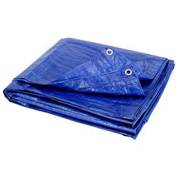 *NEW* Blue All Purpose Water Resistant Tarp Tarps Heavy Duty