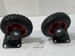 New Steelex D2580 Swivel Heavy Duty Industrial Wheel, 6-1/4-