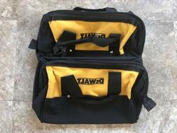 """New Dewalt Heavy Duty Ballistic Nylon Tool Bag 13"""" w Runne"""