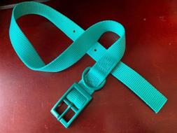 New Heavy Duty Nylon & Metal Buckle Dig Collar-fits Up To 25