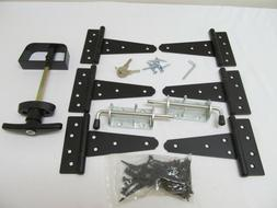 "New Heavy Duty Shed double door hardware kit: Kit 5""Hinges T"