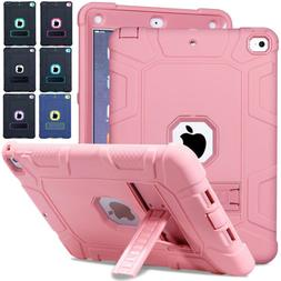 For New iPad 9.7 2018 6th Gen Shockproof Heavy Duty Rubber H