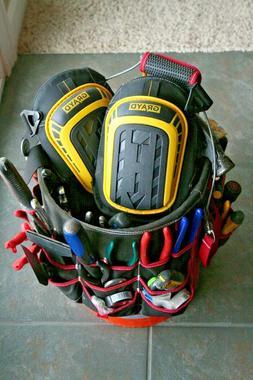 *NEW* Knee Pads For Work Construction Heavy Duty Foam -Inclu