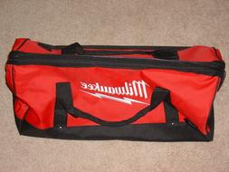 "New Large Milwaukee Heavy Duty Duffel Tool Bag 22""L X 10.5""W"