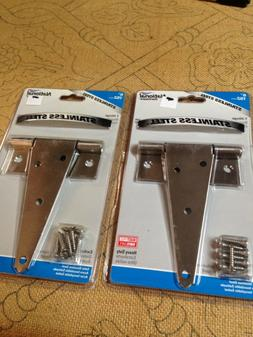 NEW Lot 2 National Hardware N342-519 V285 Heavy Duty T Hinge