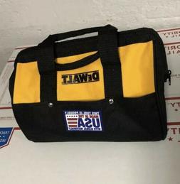 """New Dewalt N037466 Heavy Duty Ballistic Nylon Tool Bag 13"""" w"""