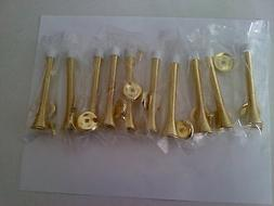 """New Prime-Line Products 806390 4"""" Brass Plated Heavy Duty Fl"""
