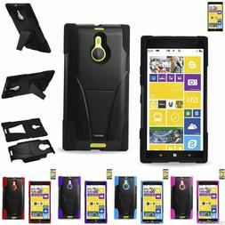 Reiko Nokia Lumia 1520 Heavy Duty Dual-Layer Hybrid Armor Ca
