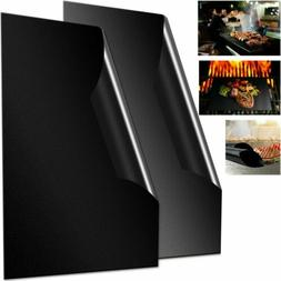 Non-Stick BBQ Grill Mat - Heavy Duty, Reusable, and Easy to