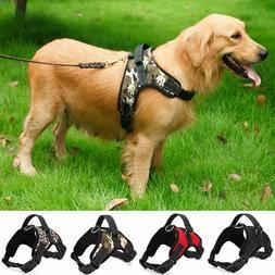 Nylon Heavy Duty Dog Pet Harness Collar K9 Padded Extra Big