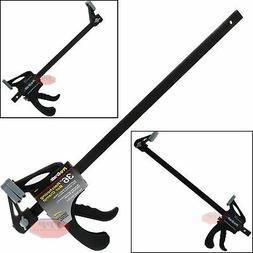 "36"" Nylon Ratchet Bar Clamp Heavy Duty Spreader Carpenter Wo"