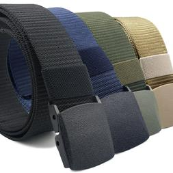 CoreLife Nylon Tactical Belts with Heavy Duty Plastic Buckle