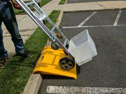 One Heavy Duty Wheelchair / Hand Truck Portable Plastic Curb