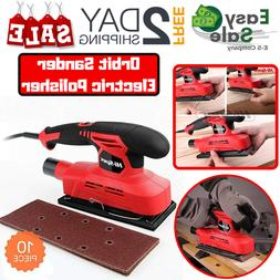 Ess Orbit Sander Electric Polisher For Home10 Pcs Sandpaper
