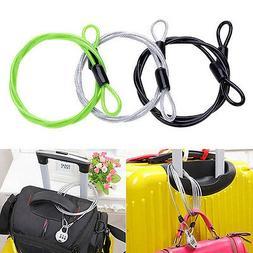 Outdoor Multifunction Bicycle Bike Double Loop Cable Lock He