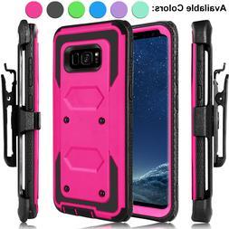 For Samsung Galaxy S10+/S10e/Note 9/8/S8 Case Hybrid Heavy D