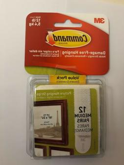 Command Picture Hanging Strips Value Pack 17204-12PK