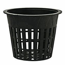 Gro Pro Plastic Heavy Duty Mesh Net Pots - hydroponics pot a