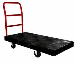 Rubbermaid Commercial Platform Truck, Black, FG444100BLA