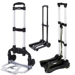 Portable 2 Wheels Lightweight Folding Hand Truck Heavy Duty