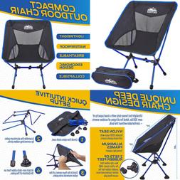 Portable Camping Chair Lightweight Compact Folding Backpacki