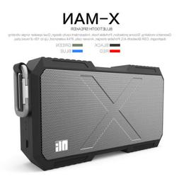 Portable Heavy Duty Waterproof Stereo Wireless Bluetooth Spe