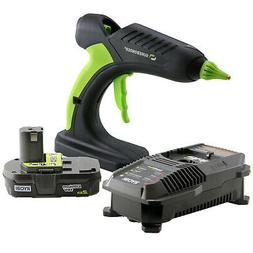 Surebonder Pro2-60KIT Cordless High Temp Glue Gun & Ryobi 18