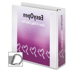Recycled ClearVue EasyOpen Vinyl D-Ring Presentation Binder,